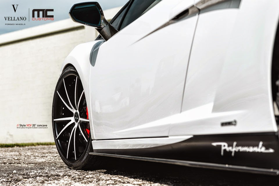 MC Customs Lamborghini Gallardo LP 570-4 Performante On VCV By Vellano Wheels