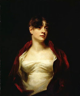 Sir Henry Raeburn painting - Mrs R. Scott Moncrieff