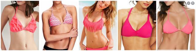 Forever 21 Ruffle Triangle Bikini Top $9.03 (regular $12.90)  Old Navy String Bikini Top $10.00 (regular $19.94)  Victoria's Secret Beach Sexy Fringe Halter $21.00 (regular $28.50)  Lucky Brand Caged Back Bralette Bikini Top $26.00 (regular $52.00)  Billabong Sol Searcher Triangle Bikini Top $27.96 (regular $34.95) in turquoise for only $10.49!