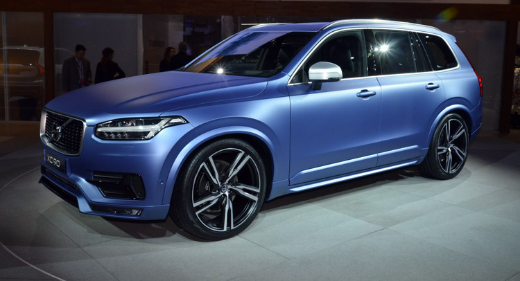 Volvo S 2016 Xc90 R Design Makes North American Debut In A