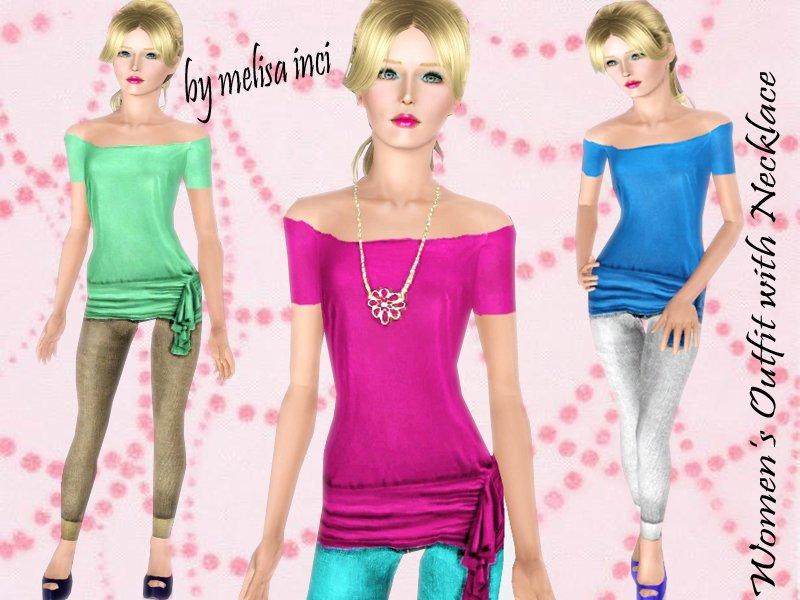 sims 3 fun time cute clothes sims tr
