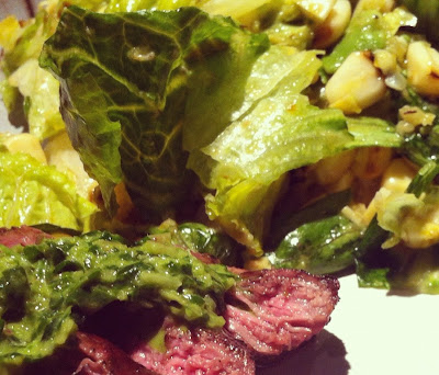 Abby's Recipe Collection: Romaine, Grilled Avocado, and Corn Salad ...