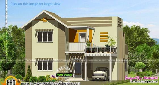 House design by Bhanuja