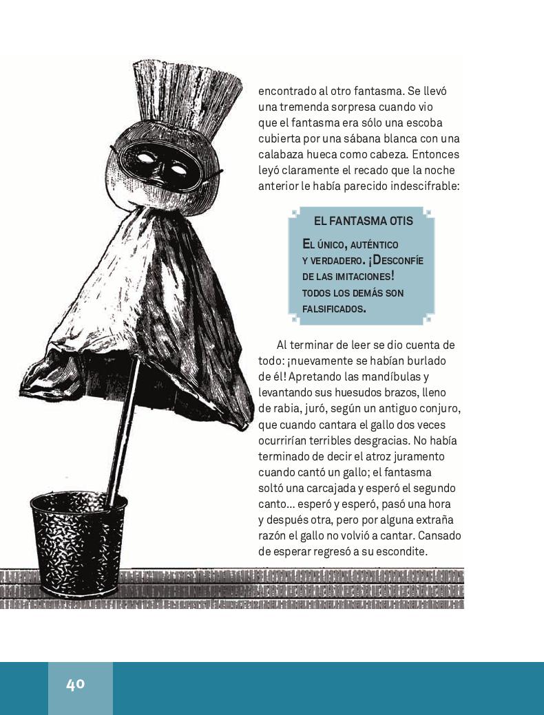 El fantasma de Canterville - Español Lecturas 4to 2014-2015