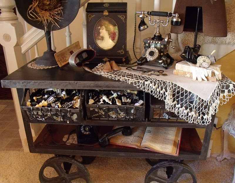 Pollyanna reinvents steampunk industrial chic and Steampunk home ideas