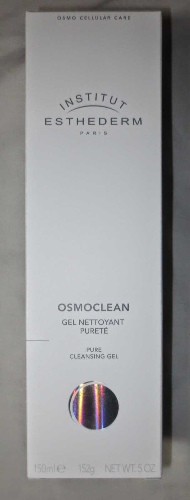 Institut Esthederm Osmoclean Pure Cleansing Gel Packaging