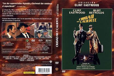Carátula - Ciudad muy caliente - Clint Eastwood - Burt Reynolds