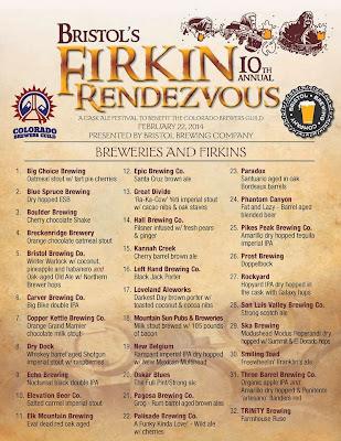Firkin Rendezvous menu