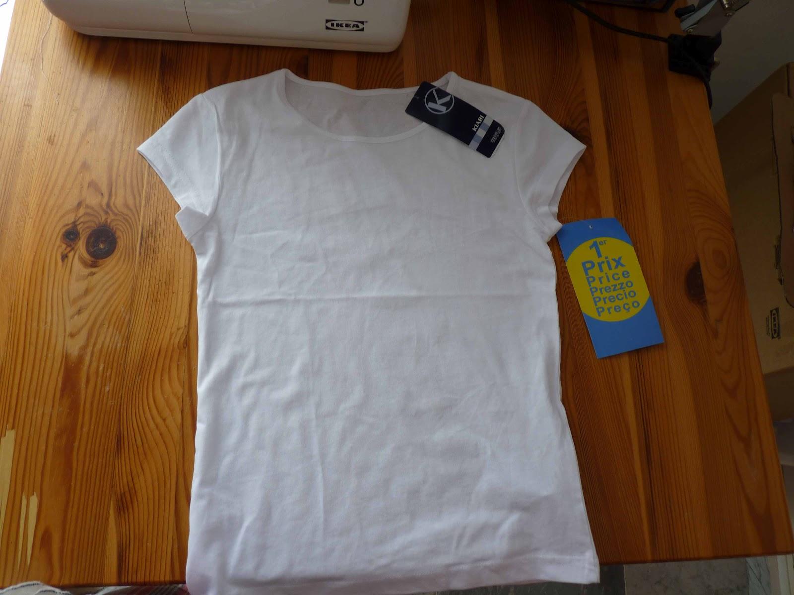 Las Cositas de Marga: Cómo decorar una camiseta con patch-work ...