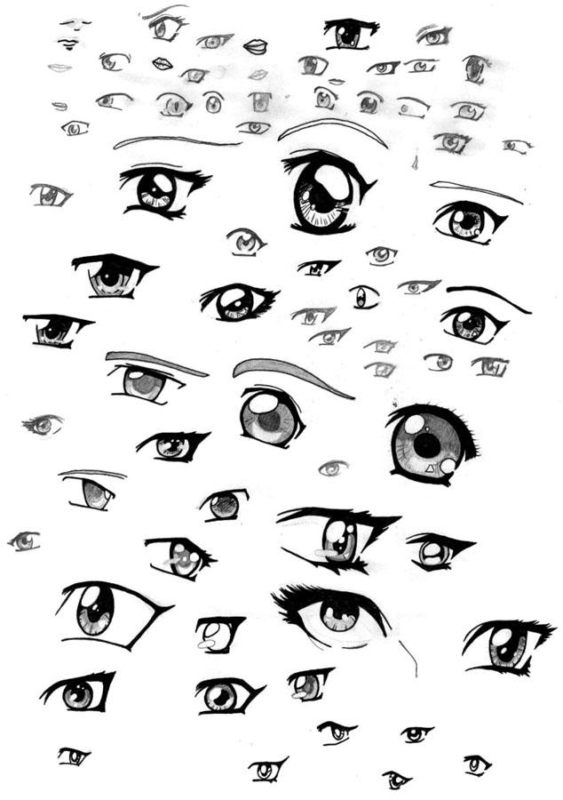 animeJapanese Anime Eyes