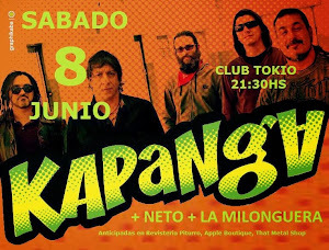 KAPANGA EN POSADAS!! SABADO 8 DE JUNIO 2013
