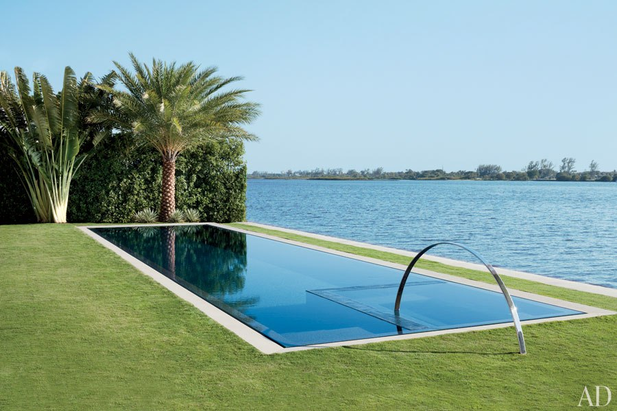 Loveisspeed kelly klein 39 s palm beach getaway - Palm beach swimming pool ...