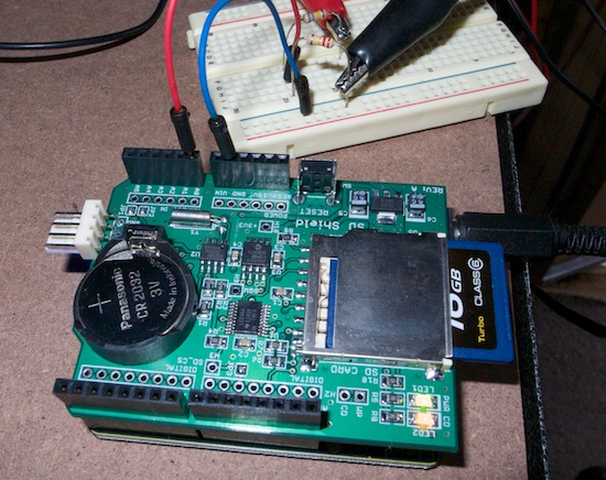 Marxy s musing on technology arduino sd data logger with