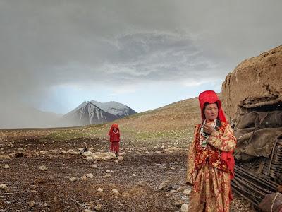Kyrgyz Girls, Afghanistan