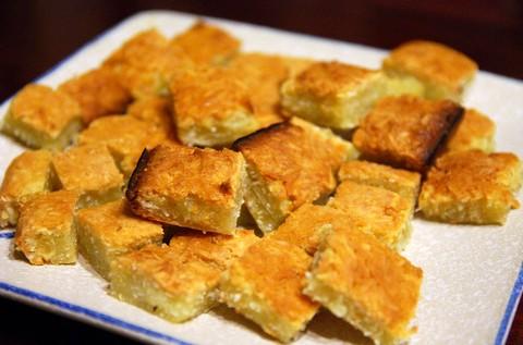 Soft tapioca and coconut cake
