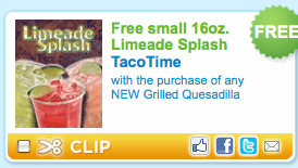 Picture+38 Free Limeade Splash at Taco Bell