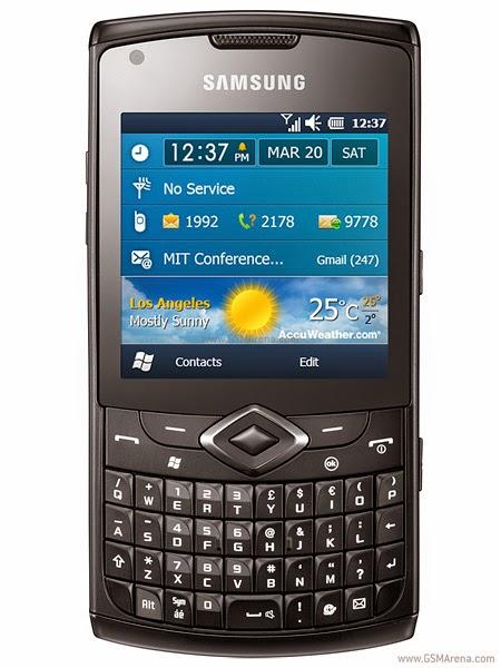 Samsung B7350 Omnia PRO 4 Firmwares