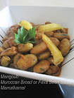 إِباوْنْ- مْنْكوبْ/Mangoob/Moroccan Broad or Fava Bean Salad!