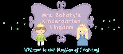 Mrs. Bohaty's Kindergarten Kingdom