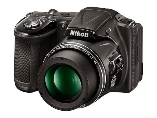 Harga dan Spesifikasi Kamera Nikon Coolpix L330