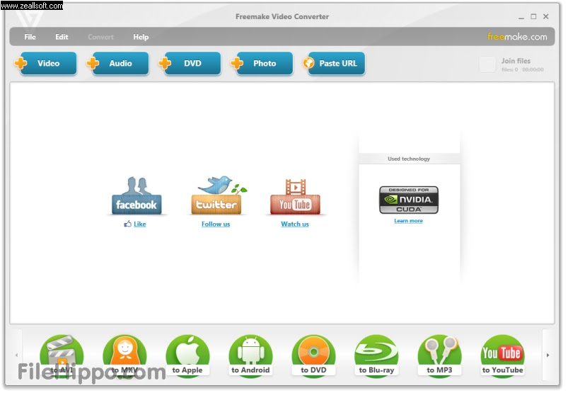 Mileniansa Studio: Freemake Video Converter 2.1.5.0