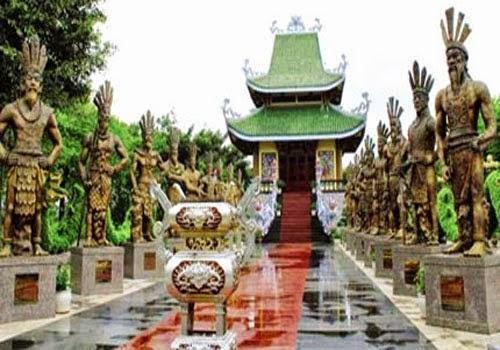 Gia Lai: Tượng Quốc tổ và 18 vua Hùng đạt kỷ lục lớn nhất quốc gia