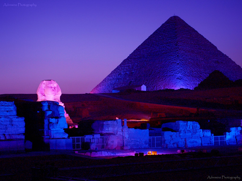 egyptian civilization night sound and light show at the pyramids. Black Bedroom Furniture Sets. Home Design Ideas