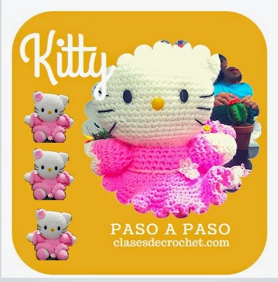 patrones gratis crochet, kitty