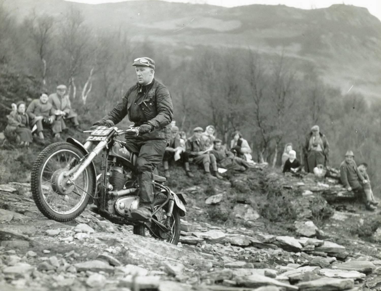 Vintage Trials Riding