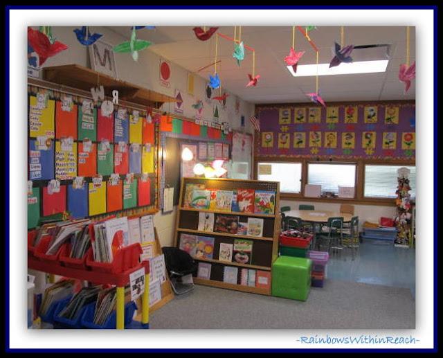 Classroom Focus Wall and SetUP (Classroom Decor RoundUP via RainbowsWithinReach)