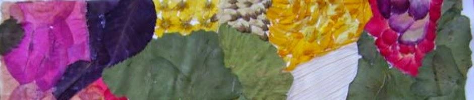 Flores prensadas.... y más