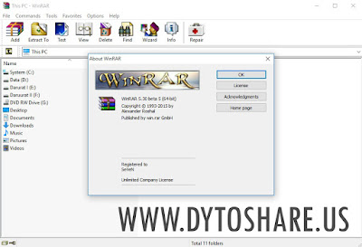 WinRAR 5.30 Beta 5 Full Version