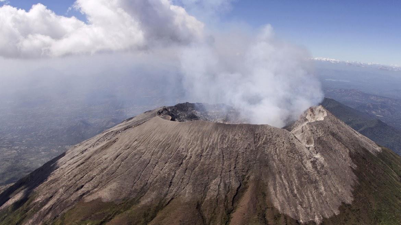 Le volcan Chaparrastique-San Miguel, janvier 2014