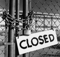 fábrica fechada