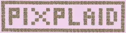 Vous avez envie de créer un plaid style pixel rien de plus facile clic sur la bannière...