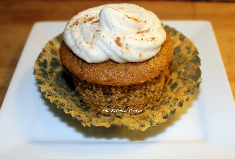 Pumpkin Cupcakes With Buttermilk Icing Recipes — Dishmaps