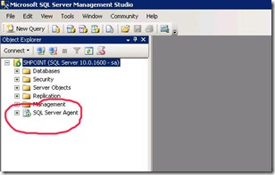 Scheduling automated backup using SQL server 2008