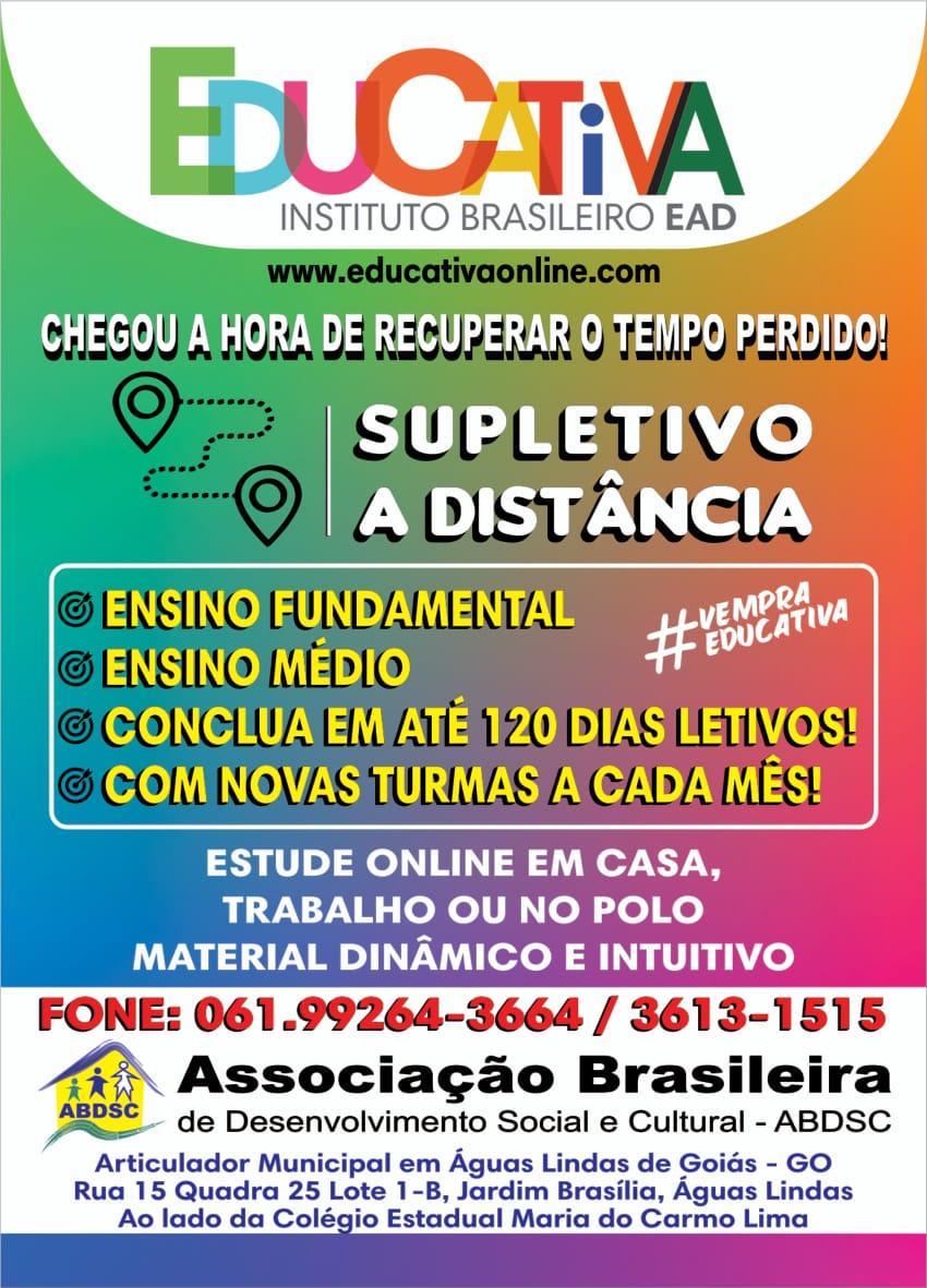 ASSOCIAÇÃO BRASILEIRA DE DESENVOLVIMENTO SOCIAL E CULTURAL