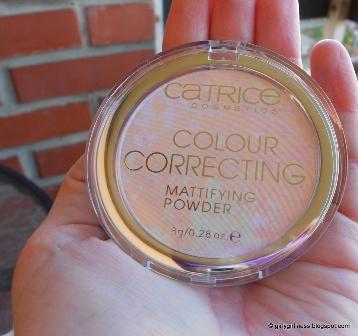 catrice colour correcting matirajući puder