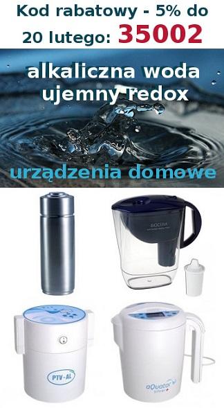 Woda alkaliczna, jonizatory: