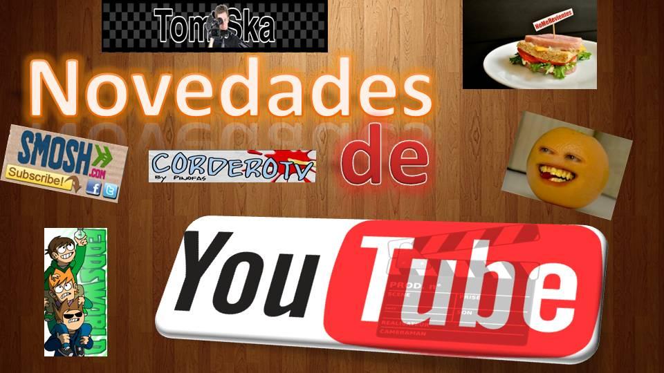 Novedades de YouTube