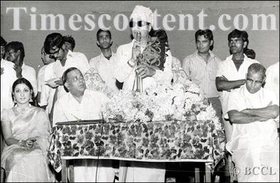MGR Speaks in a Film Function