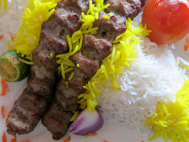 Iranian Lamb Kebab Johor