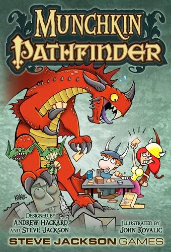 Caja del juego Munchkin Pathfinder