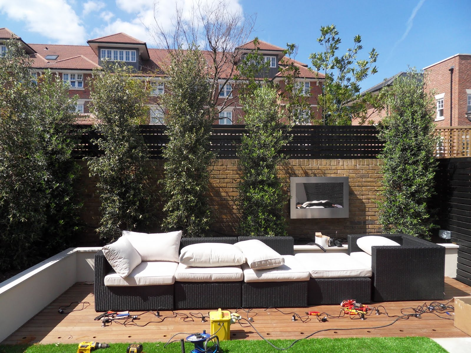 Garden Design Degree Greencube Garden And Landscape Design Uk Twickenham Courtyard Garden