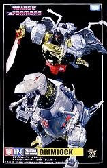 Transformers Masterpiece MP-08 Grimlock Re-Stock