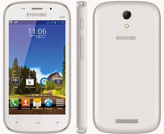 Evercoss A7D Smartphone Android Murah Rp 800 Ribu