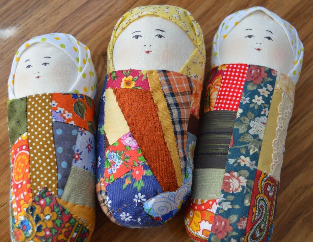 кукла пеленашка