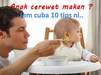 anak tak nak makan