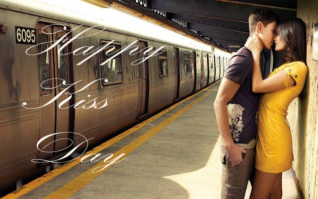 Happy kiss day wallpapers 2014 hot kiss couples young photos